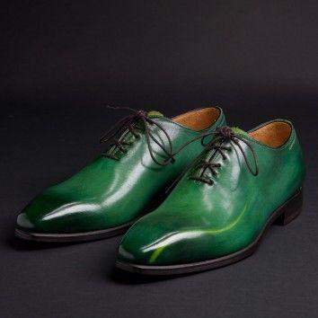 bottes verte homme colorée