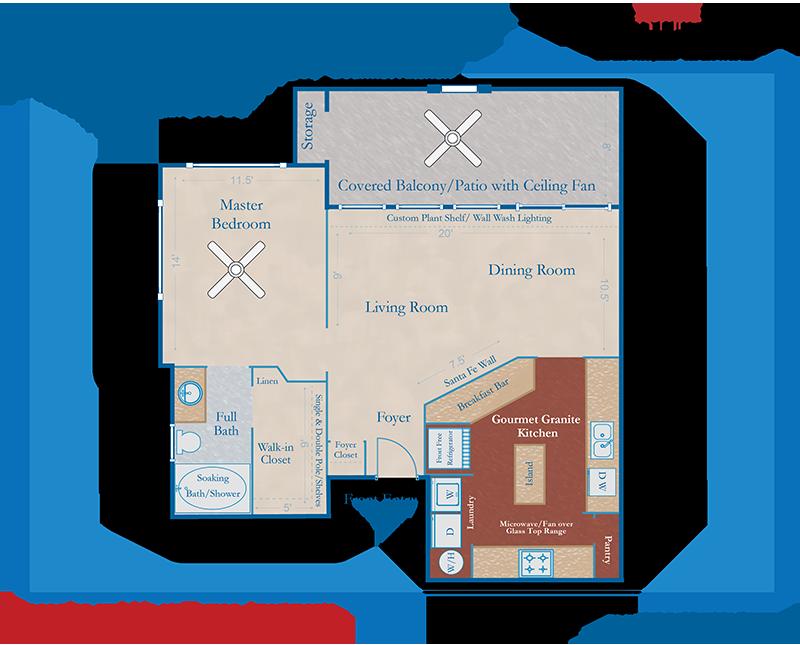Tucson Home Builders Floor Plans: Tucson Rental Homes - Guest House