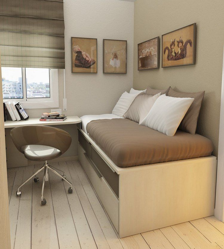 Optimisation de lespace dune petite chambre dado