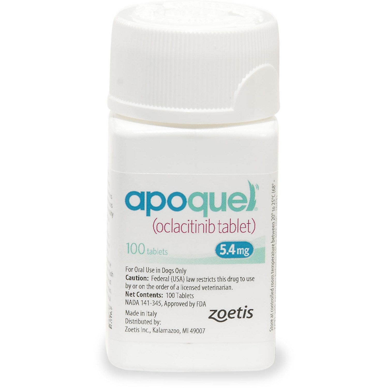 Apoquel 5 4 Mg Tablets 100 Count 100 Ct Vet Clinics Animal