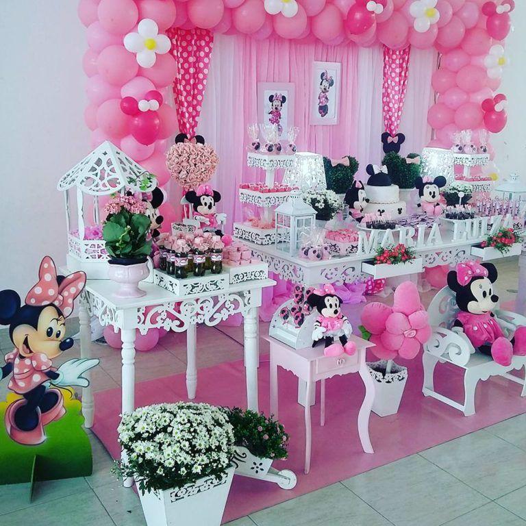 Festa Minnie Rosa Ideias Fofas Para A Festa Infantil Mimo