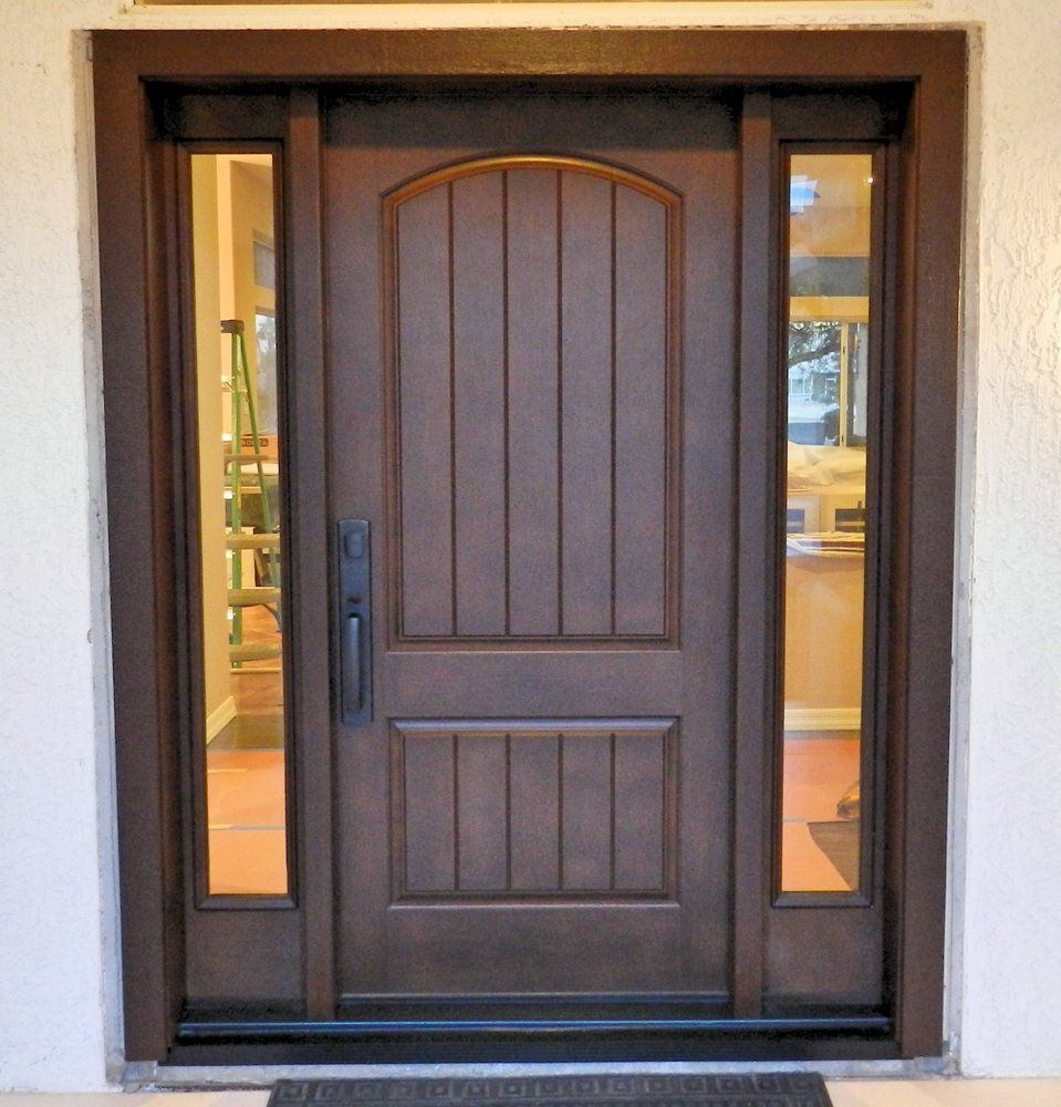 Therma Tru Rustic Classic Craft Google Search Rustic Doors Front Entry Doors Entry Door With Sidelights