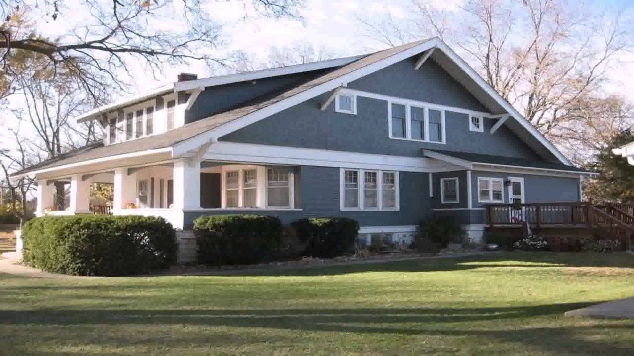 Cape Style House With Shed Dormer Youtube Craftsman House Craftsman Style Homes Craftsman Bungalows