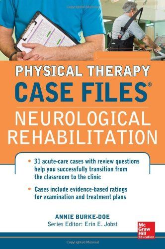Call Number 616 8043 B917c Physical Therapy Case Files