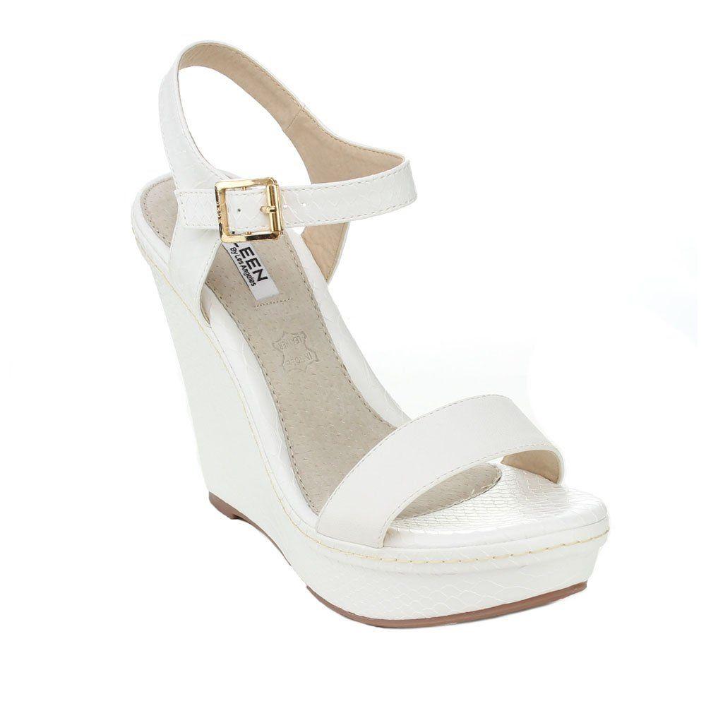 Strappy high heels, Beach wedding shoes
