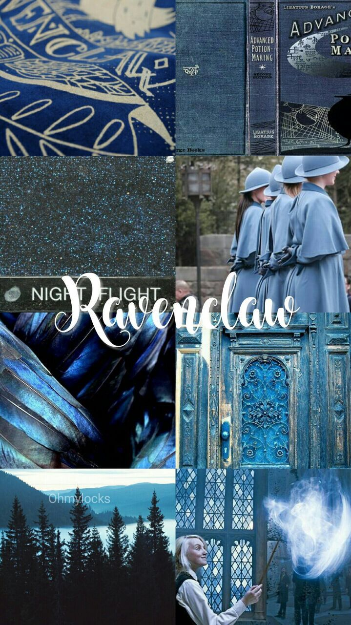 Ravenclaw Aesthetic Hogwarts Houses With Images Ravenclaw