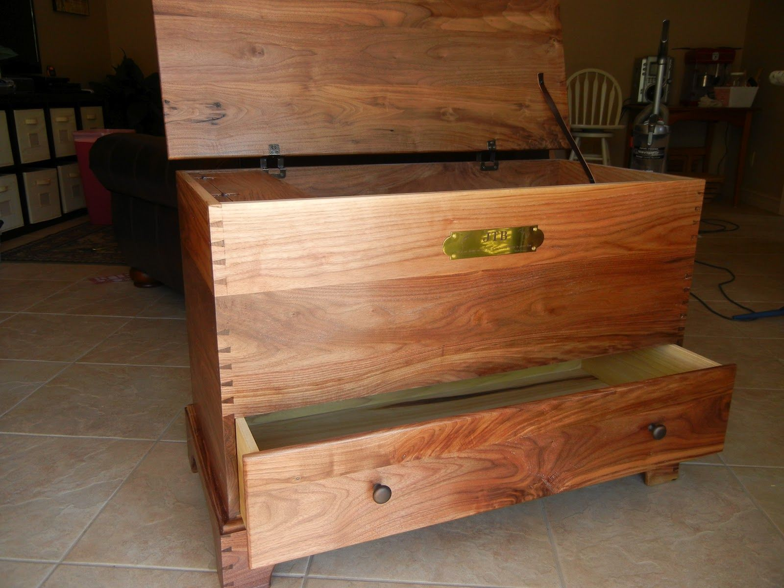 Shaker Blanket Chest By Jim Brehove Hope Chest Woodworking Plans