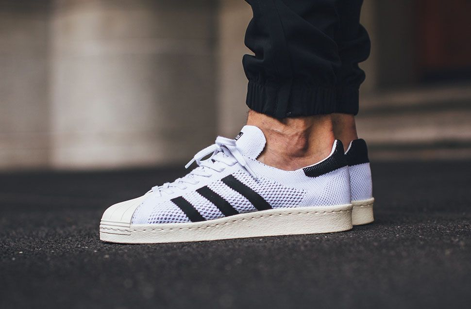 "adidas Superstar 80s Primeknit ""White/Core Black"""