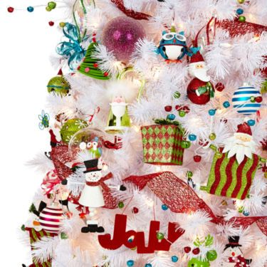 holiday glitz christmas decorations jcpenney