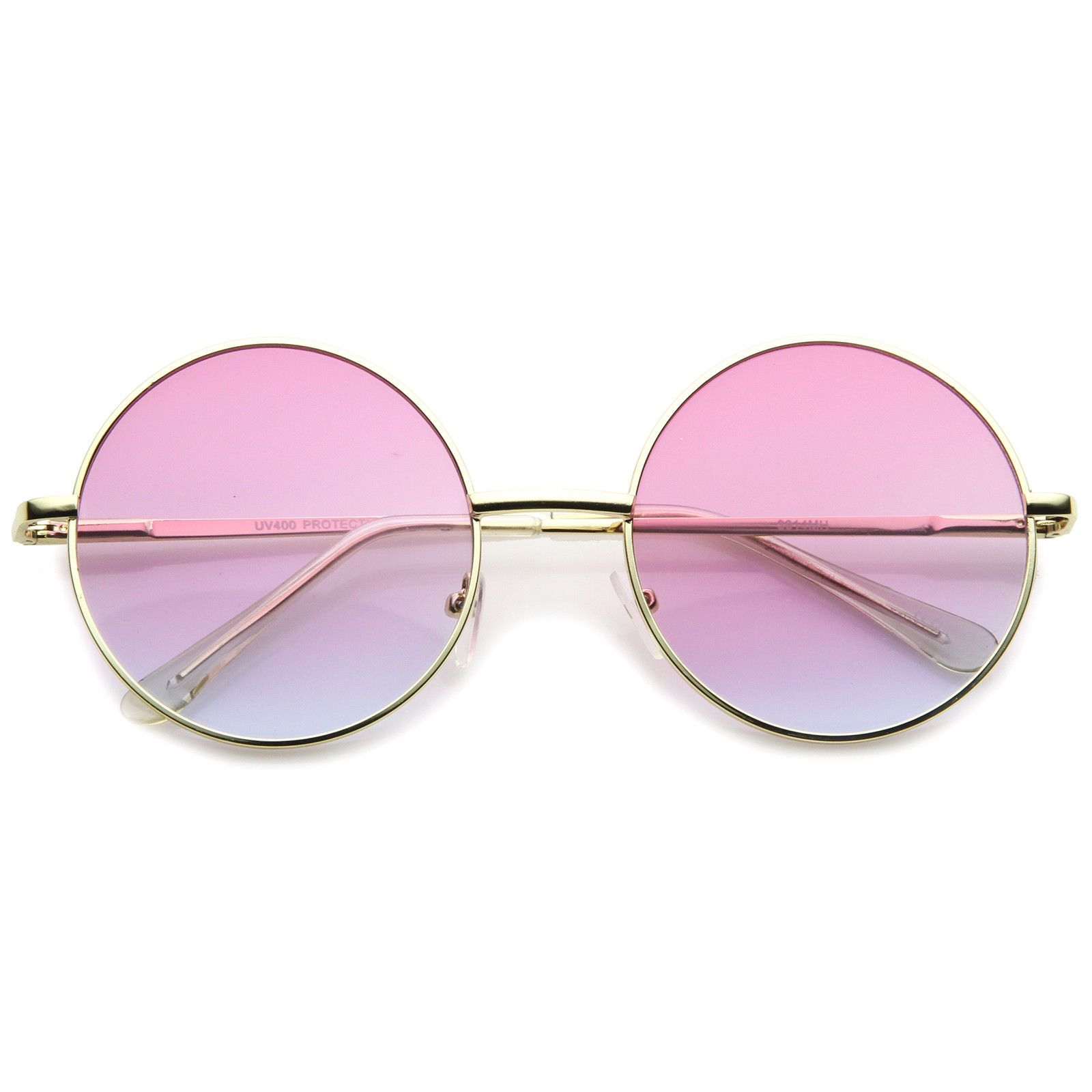 8ff704c9b $9.99 - Womens Metal Round Sunglasses With Uv400 Protected Gradient Lens  #ebay #Fashion