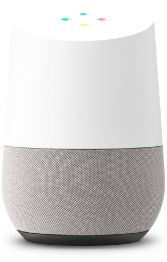 Google Home Speaker Similar To The Amazon Echo But Compatible With Google Technology And Cheaper Google Home Smart Home Design Smart Home Technology