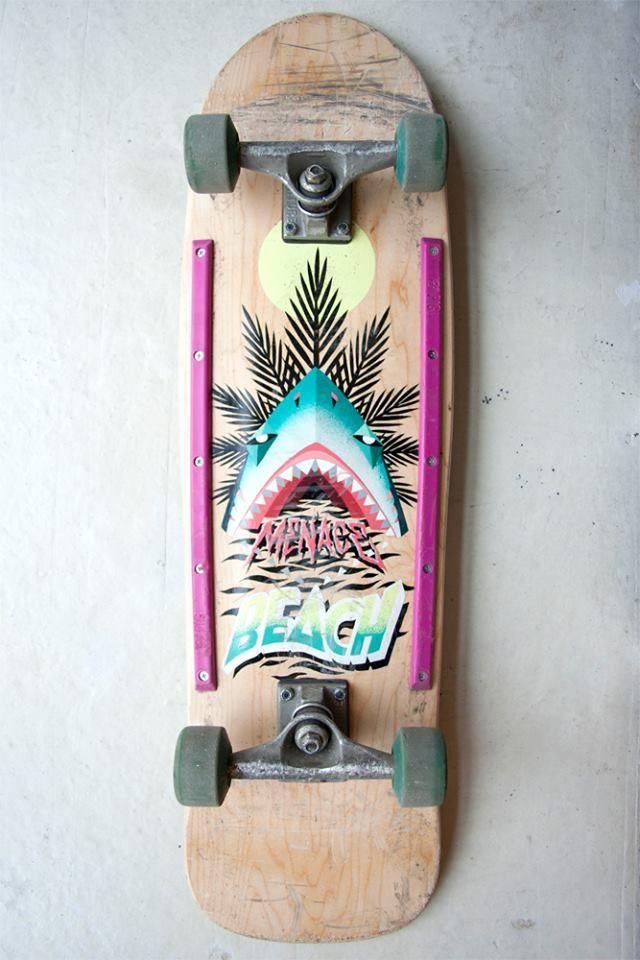 Low Bros s'inspire du mouvement skateboard des années 70 et 80 | Artcitytrip.com – Centralisation des expositions #skateboard #exhibition #art