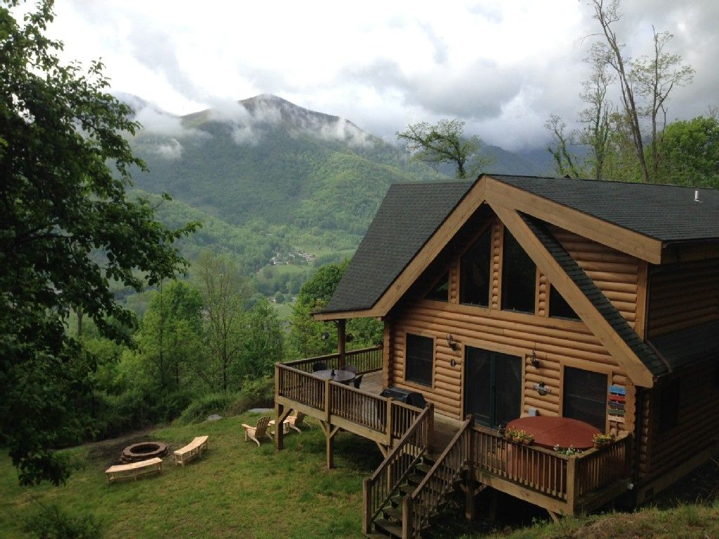 Maggie valley vacation rental vrbo 439925 2 br smoky for Smoky mountain nc cabin rentals
