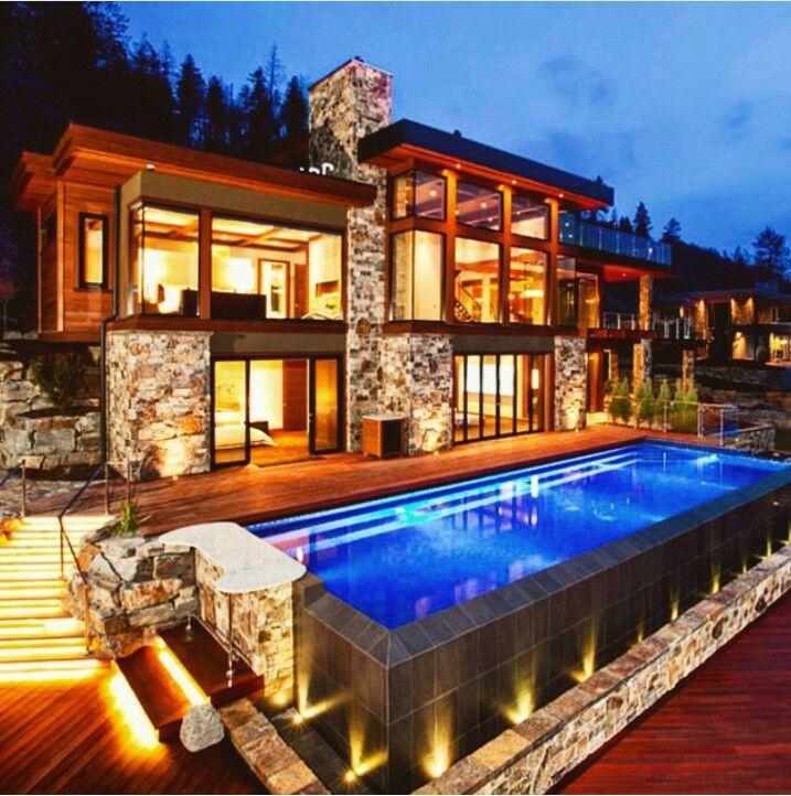 Lake Homes Fancy: House, Modern Lake House, Modern
