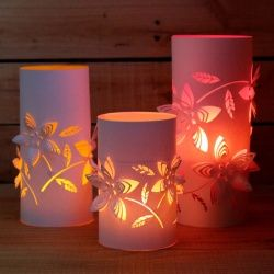 Learn How To Make Paper Lanterns With The Radiant Light Tutorial These Gorgeous DIY Are Made Using A Die Cutting Machine