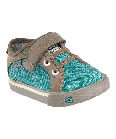Shaded Spruce & Brindle Strap Arcata Sneaker by KEEN Kids on #zulily #fall
