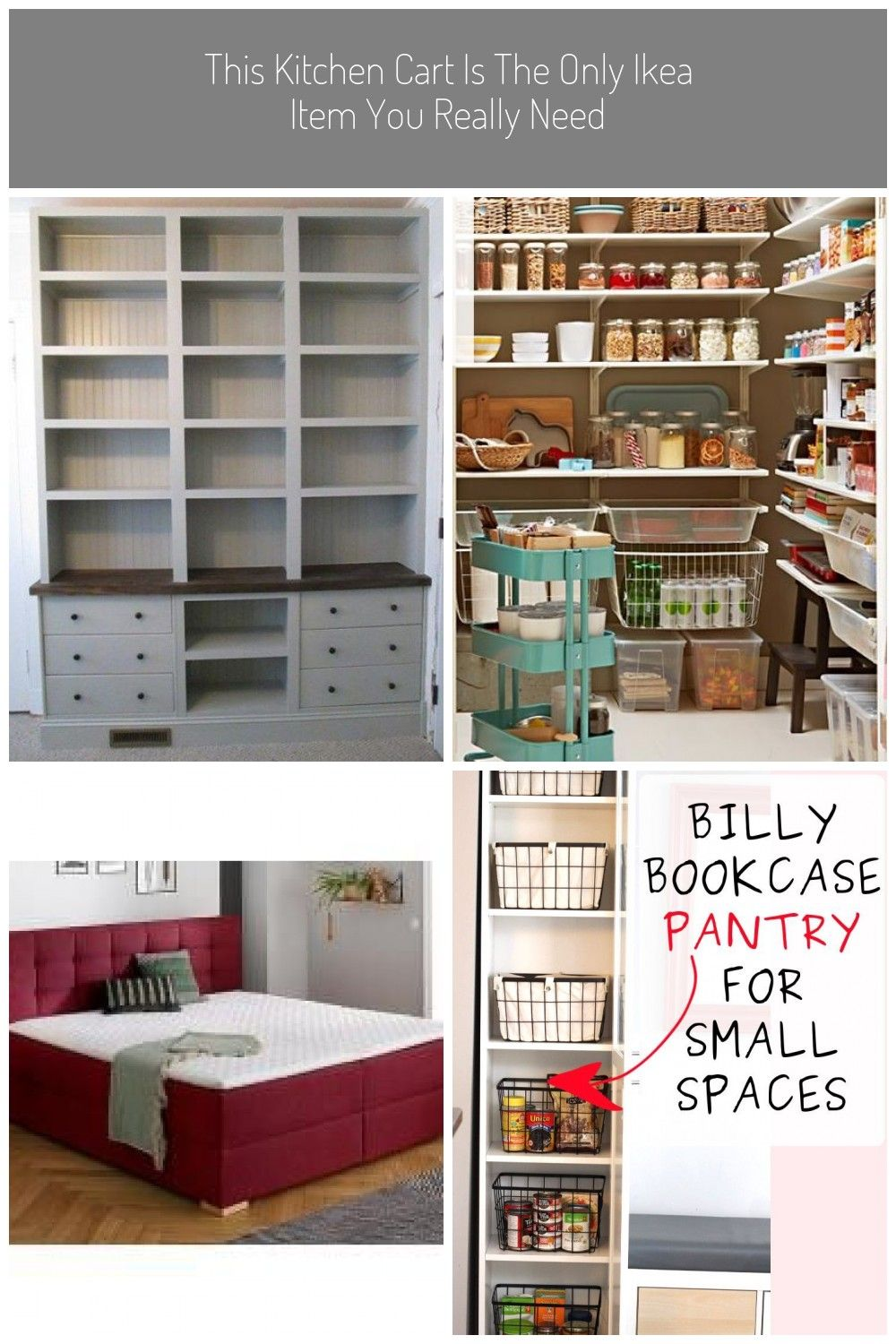 Trendy Kitchen Ikea Pantry Billy Bookcases Ideas In 2020 Mit Bildern