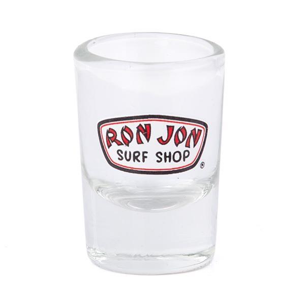 Ron Jon Mini Badge Shot Glass Barware Shot Glass Glass Barware Glass