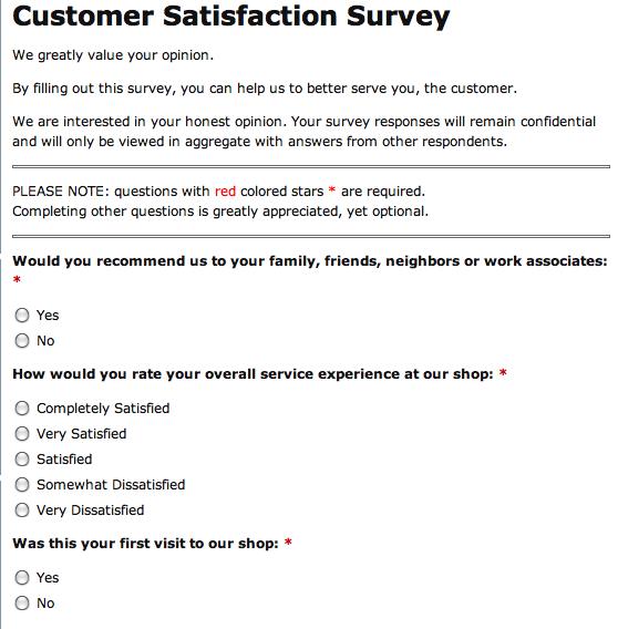 Customer Satisfaction Surveys Survey Templates And Worksheets Customer Survey Survey Template Customer Satisfaction Survey Template