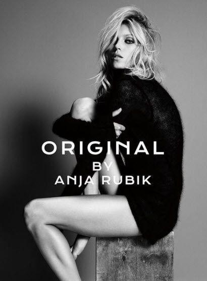 Anja Rubik's first fragrance is called Original.