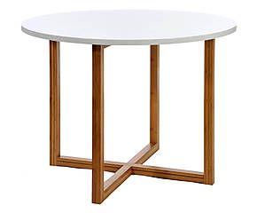 Tavolo in bamboo e mdf Natural - 100x76 cm