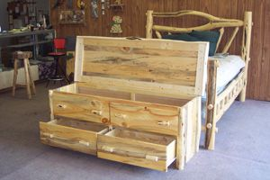 Superbe Log Beds | Made In Montana Pine Log Bed