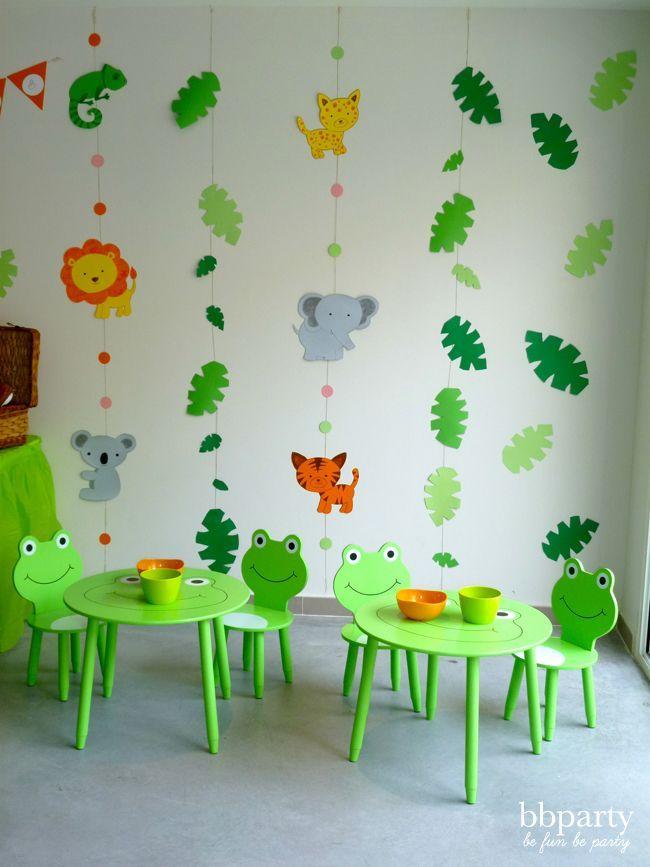 pingl par catherine sur baby shower pinterest fiesta cr che et anniversaire. Black Bedroom Furniture Sets. Home Design Ideas