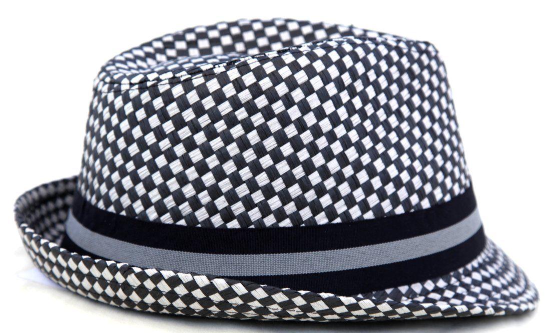 Rude Boy   Ska Grey Trilby Two Tone Hat - 56cm  41180e2e0ba