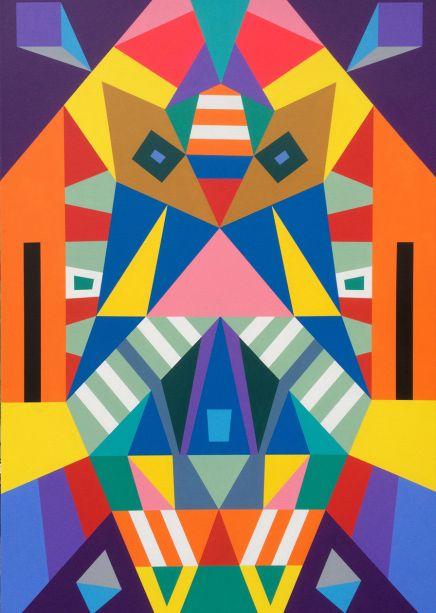 geometriske former billedkunst