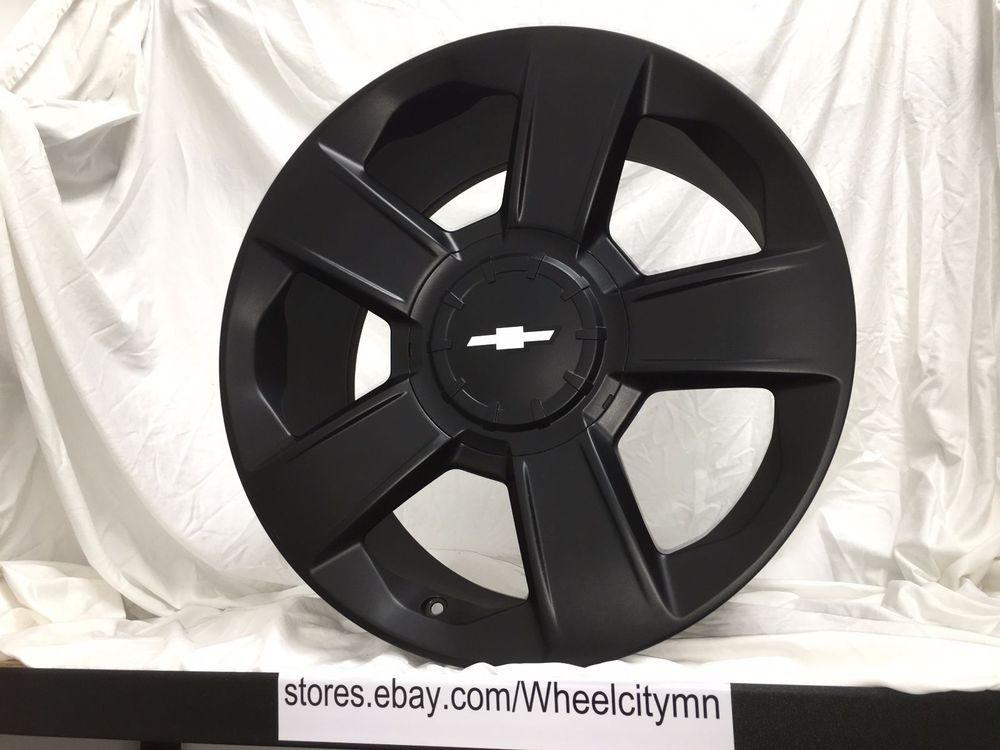 "20"" 2014 2015 Chevrolet Silverado OE GM replica wheels"
