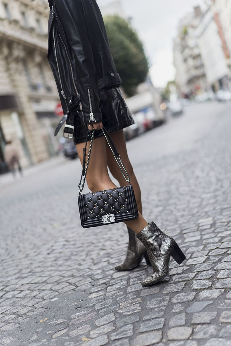 084defec How To Rock Metallic Ankle Boots (The Edit) | Women's Fashion ...