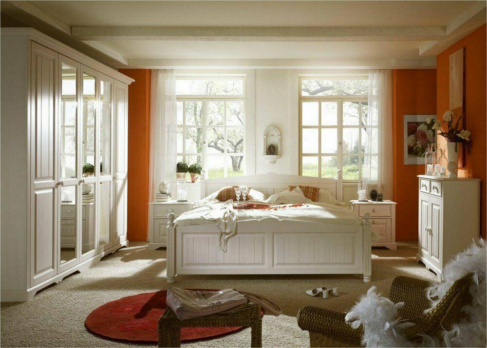 Details zu NEU Landhausstil Schlafzimmer Veronica Pinie