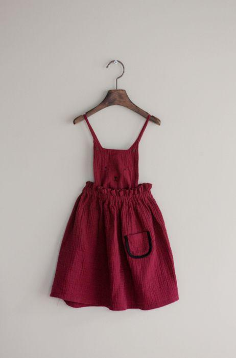 Momo Ann Cat Overall Dress (2C)