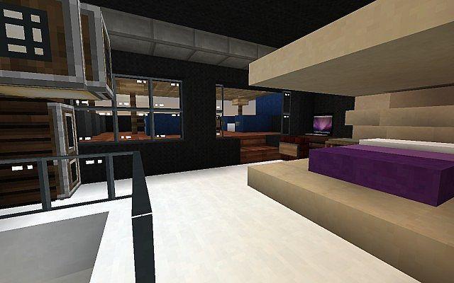 Eclipse Feat Ustin Jay Minecraft Modern Modern Bedroom