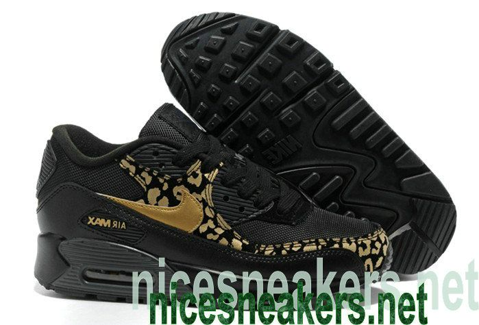 nike running shoes black and gold, womens air max 90 nike