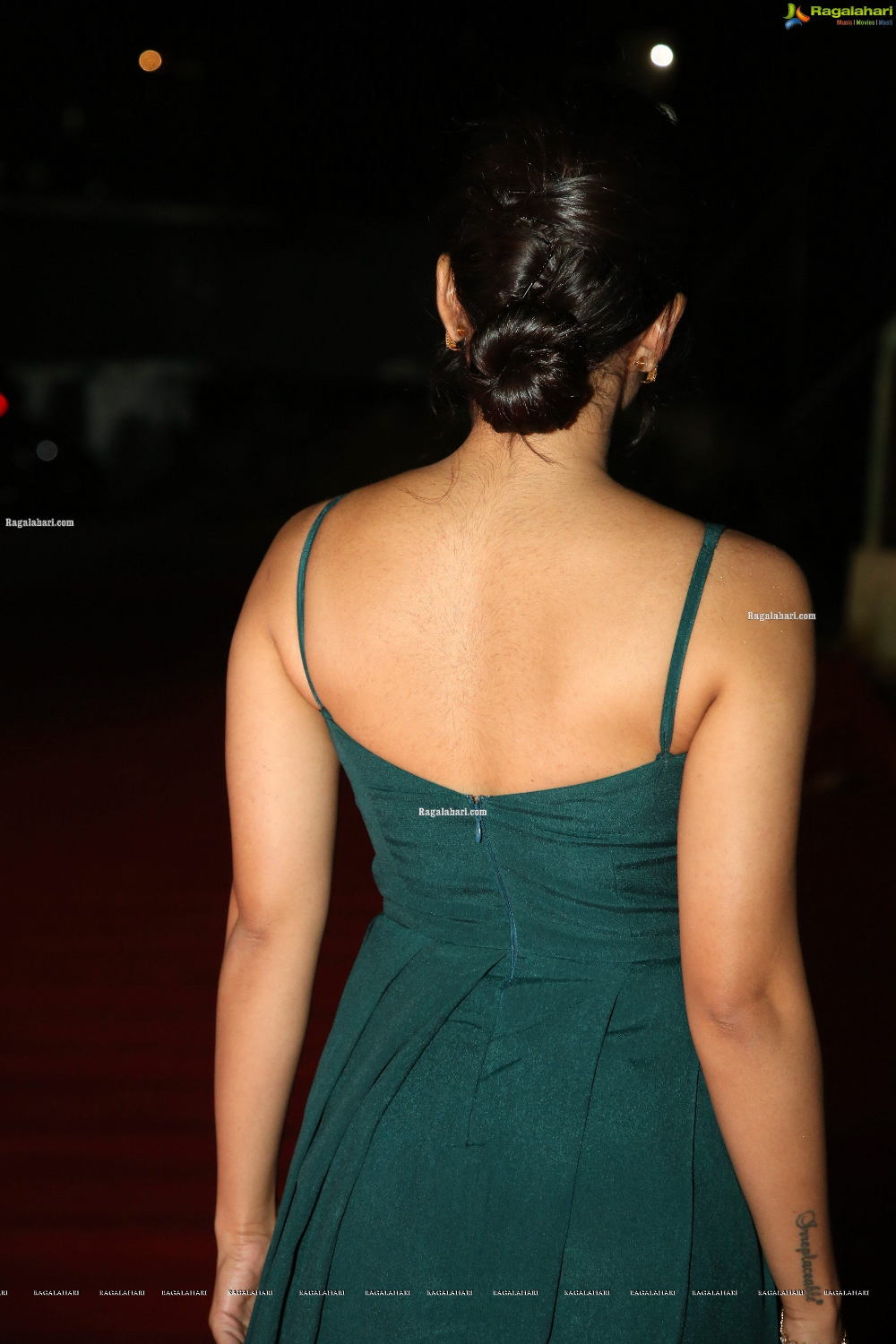 Rashmika Mandanna At Bheeshma Movie Pre Release Event Hd In 2020 Sleeveless Gown Backless Actresses