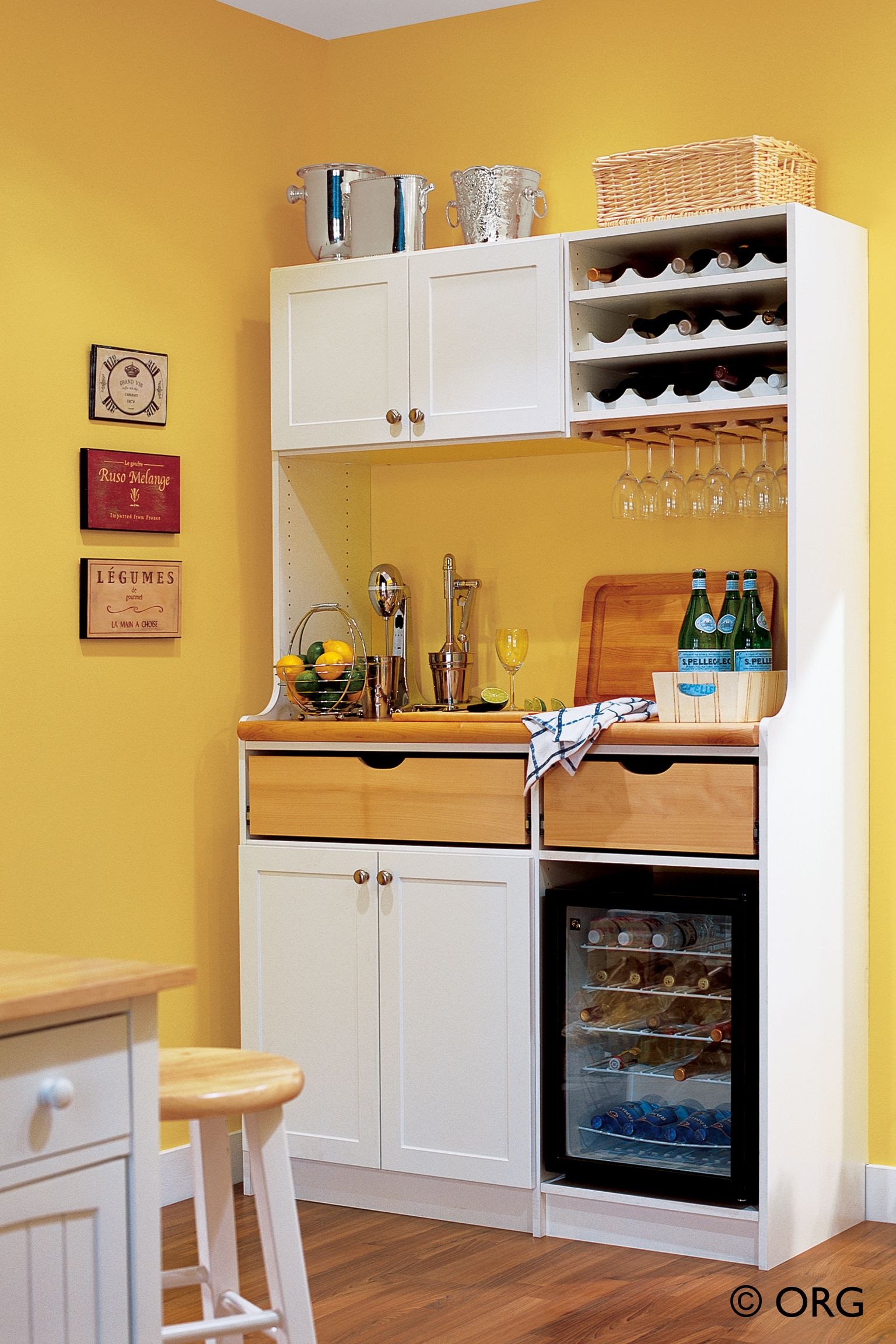 Charming Storage Solutions For Tiny Kitchens | Kitchen Storage Solutions: Pantry Storage  Cabinets