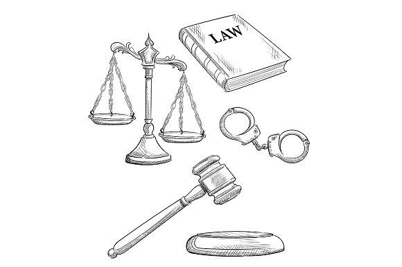 Law and judgment . Objects. $5.00