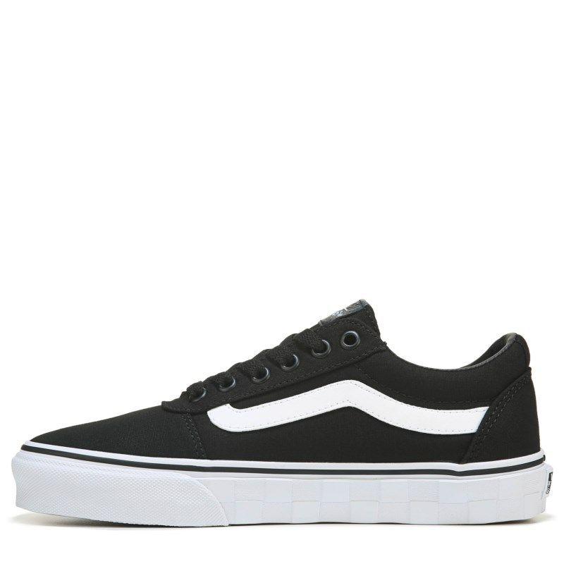 97e51b45b41d Vans Women s Ward Deluxe Ultra Cush  sneakers (Black White)