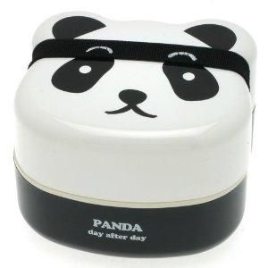 I found 'Kotobuki 2-Tiered Bento Box, Panda Face' on Wish, check it out!
