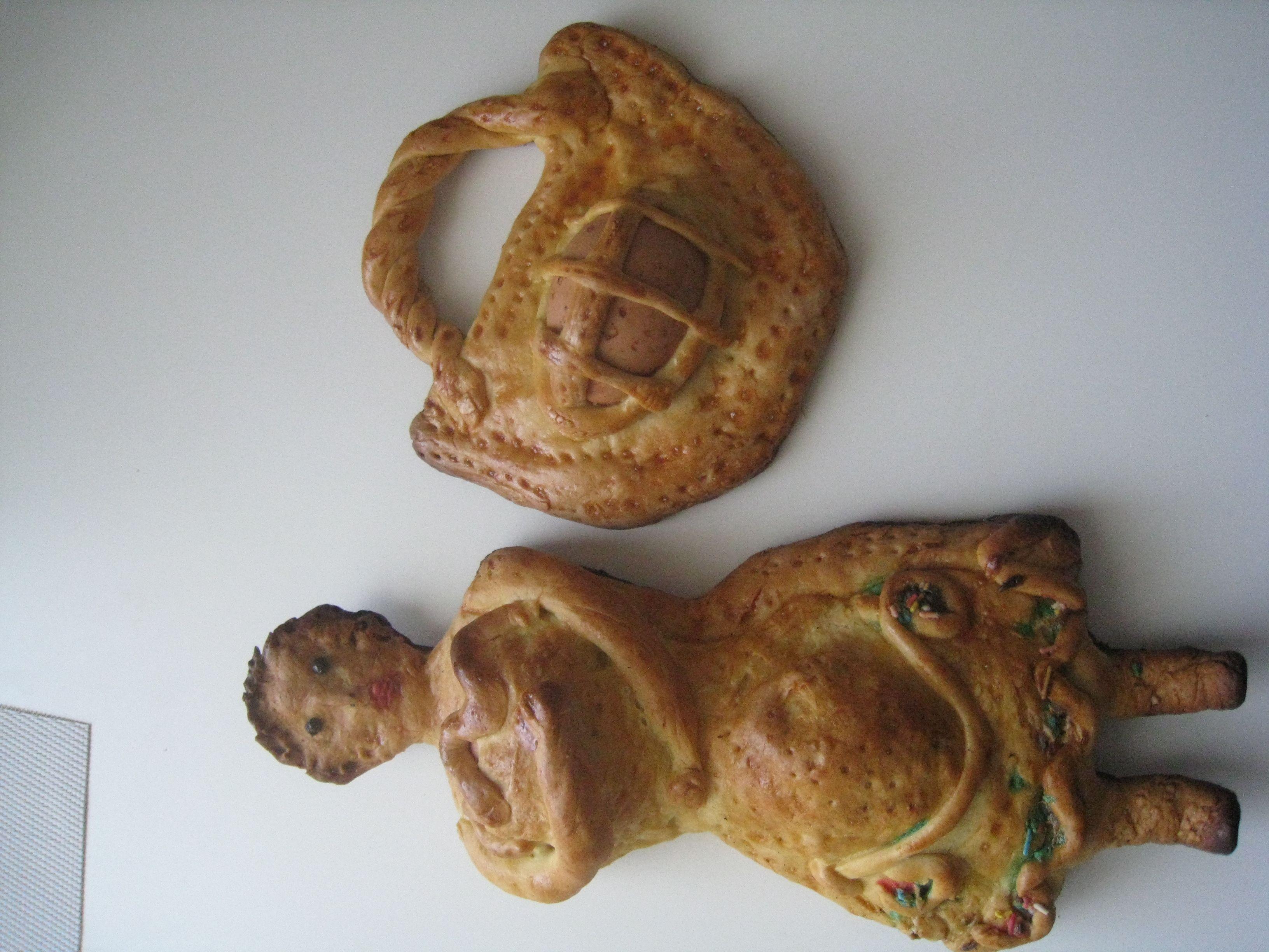 dolci tipici pasquali fatti dalla Mamma