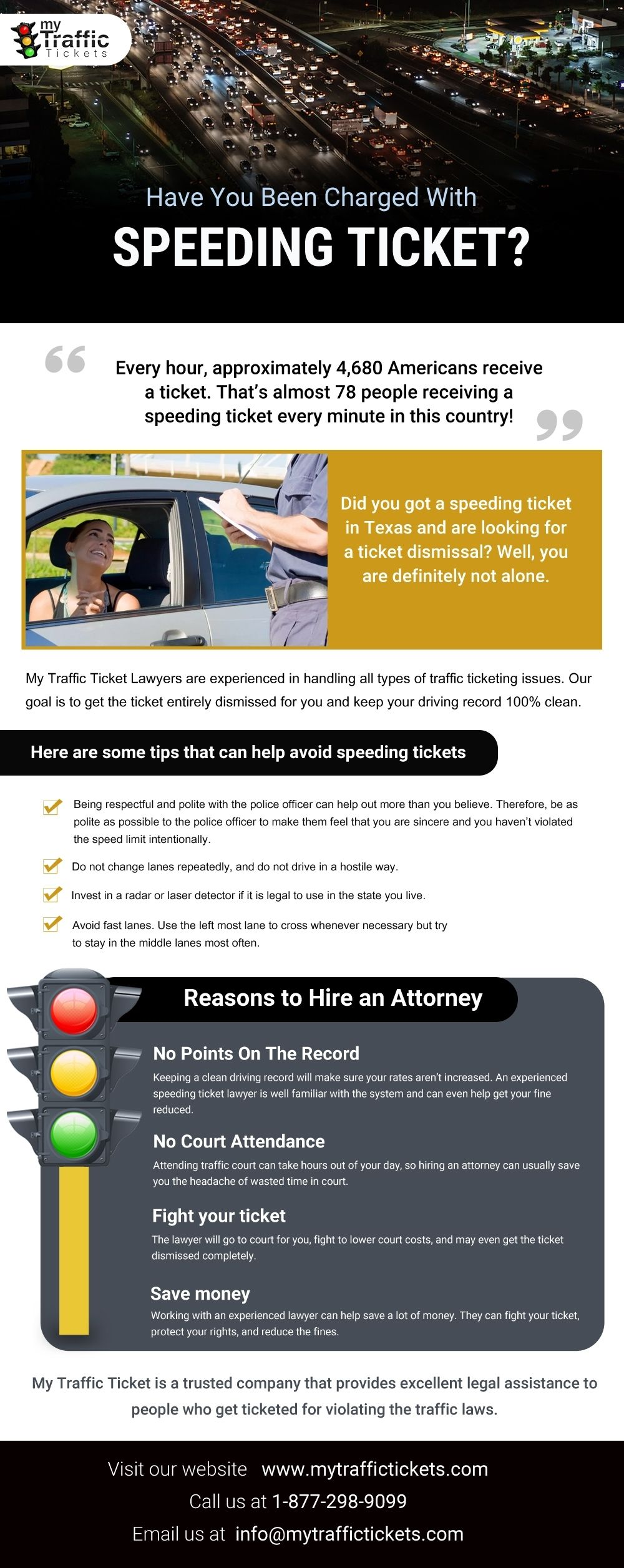 My Traffic Tickets Offers One Stop Destination To Take Care Of Your All Traffic Tickets With The Best Customer Servic Traffic Ticket Traffic Speeding Tickets