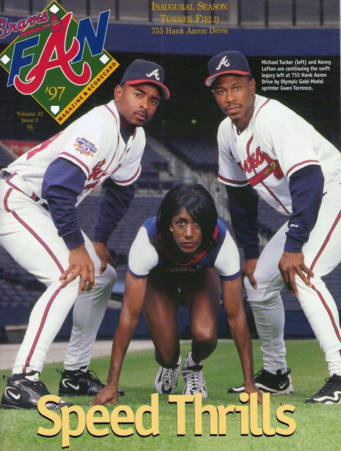 Atlanta Braves Program 1997 Atlanta Braves Braves Atlanta