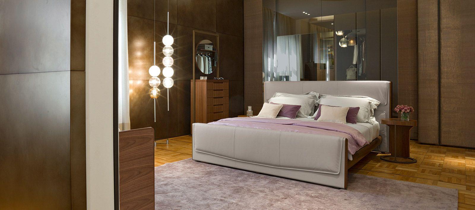 Furniture, Italian furniture, Bedroom interior