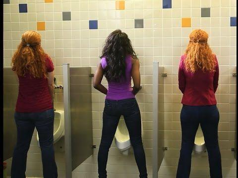 Women Standing Piss Clip