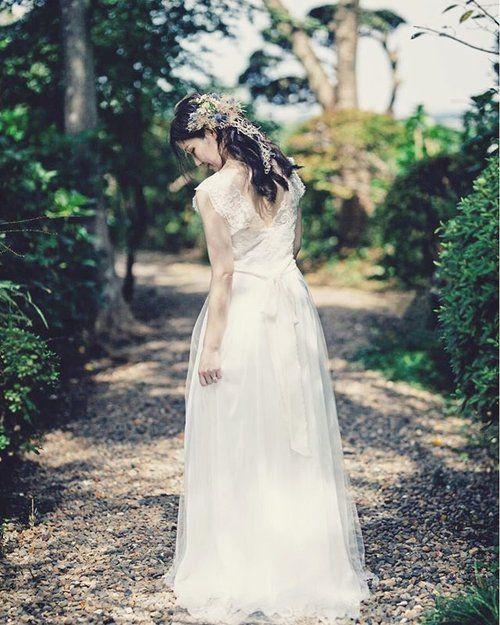 ガーデンウェディング ドレス レンタル