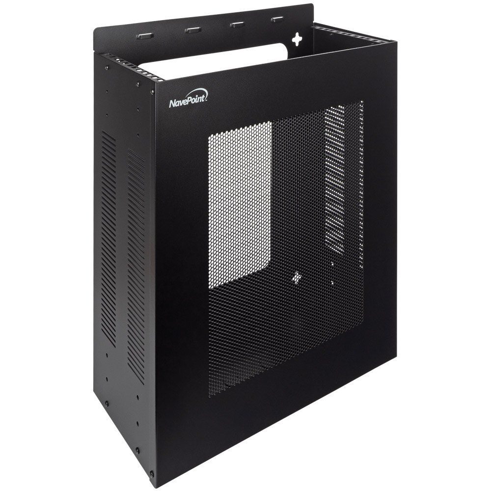 00406189 New 4u Vertical Wall Mountable Rack Mount Enclosed Server Rack Box Sold By Navepoint Server Rack Things To Sell Rack
