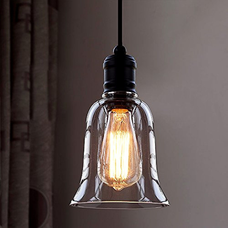 Industrial Vintage Retro Single Light Mini Pendant Light - LITFAD ...