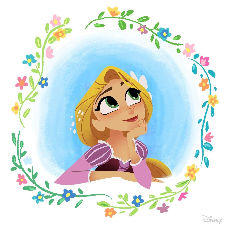 Enredados Otra Vez La Serie Rapunzel Dibujo Pinturas Disney Princesas Disney Dibujos