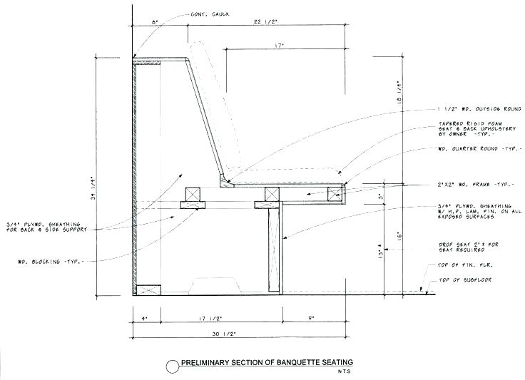 Standard Bench Depth Bench Seat Height Standard Bench Seat Height Seating Window Built In Dimensions And Depth Park In 2020 Banquette Seating Banquette Kitchen Seating